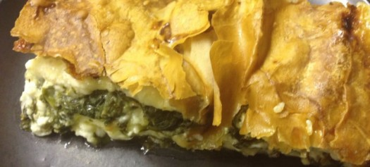 Cheese and spinach pie