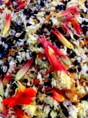 Sharpham jewelled rice